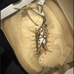 Nike High Top Air Force 1s